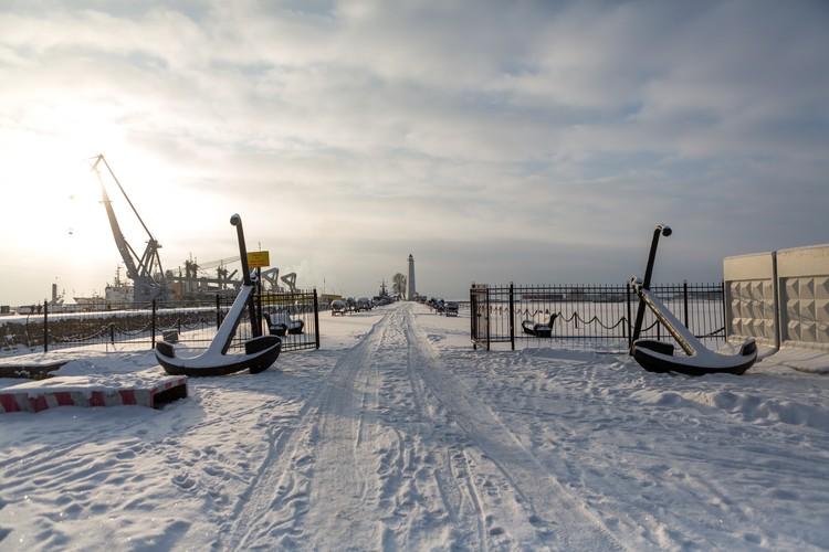 Усть-Рогатка в Кронштадте станет одной из зон парка.