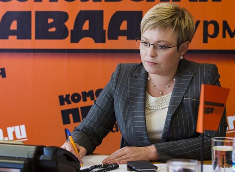 Губернатор Мурманской области Марина Ковтун. Фото: Дмитрий Дубов