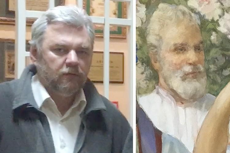 Блогеры обвиняют реставраторов не только в деукраинизации. Но и в том, например, что на центральном панно директор реставрационных мастерских Китеж Александр Иванов запечатлел себя.