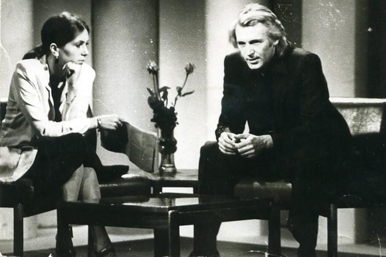 Одна из телевстреч была записана Верой Юрьевной со Станиславом Любшиным. Фото: архив Веры Савиной