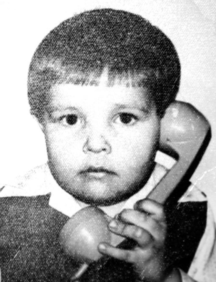 В детстве Паша был очень застенчивым ребенком. Фото: личный архив Валерия Голоухова