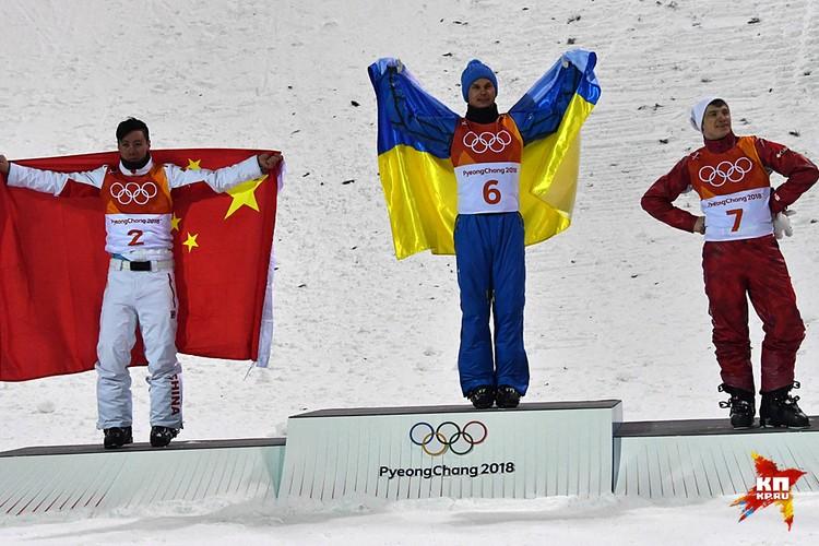 Нашего спортсмена опередили китаец и украинец