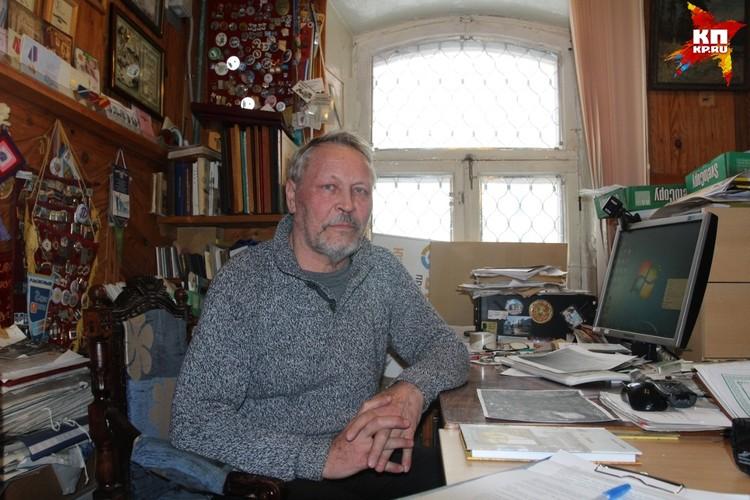 Краевед-исследователь, член Совета Союза краеведов России Евгений Ступкин