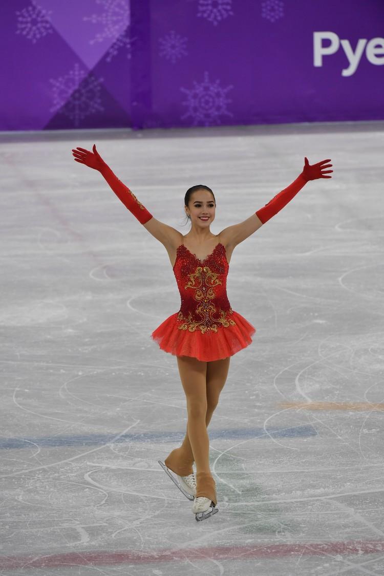 Уже находясь в ранге олимпийской чемпионки, Загитова призналась, что была бы рада и серебру.