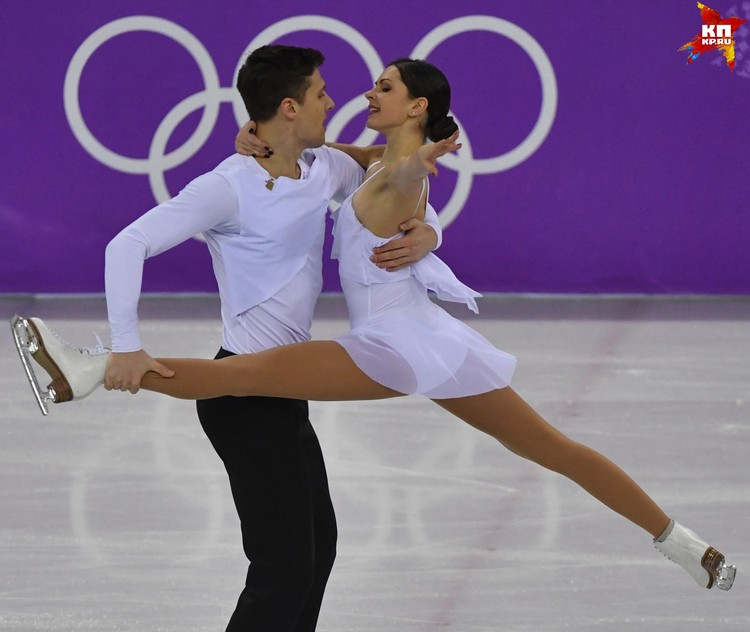 Бронзовые призеры последнего чемпионата Европы Александр Энберт и Наталья Забияко