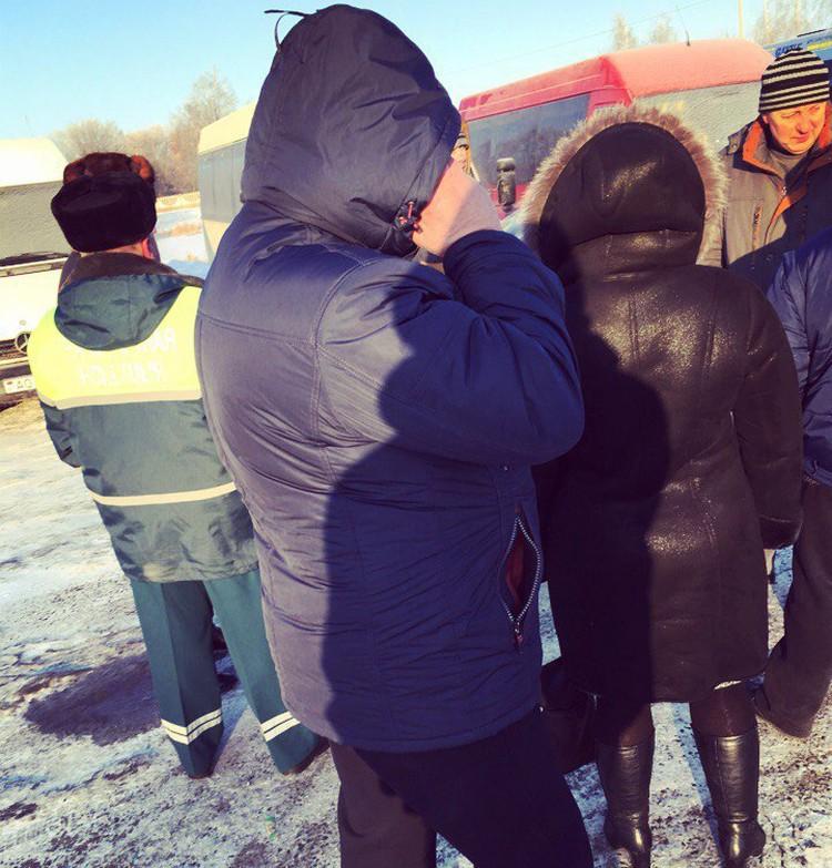 Водители в Слуцке не поехали в рейсы. Фото: соцсети.