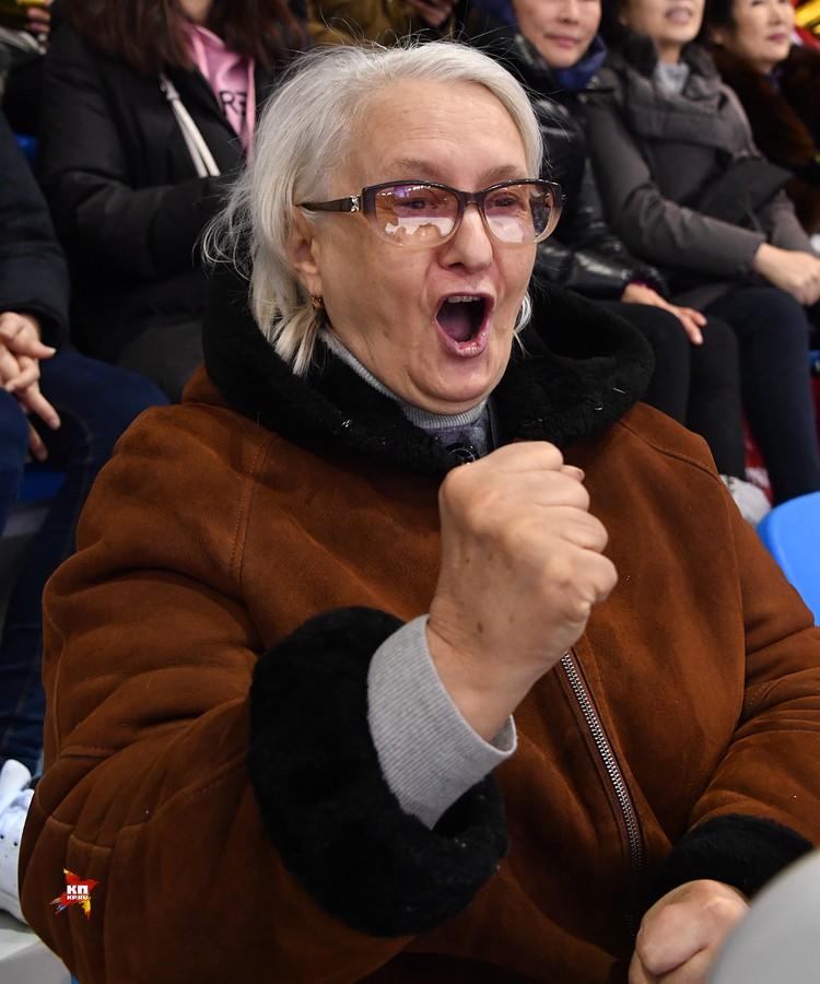 Бабушка фигуристки Медведевой - Валентина Лаврентьевна