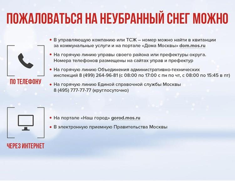 Уборку снега можно проконтролировать