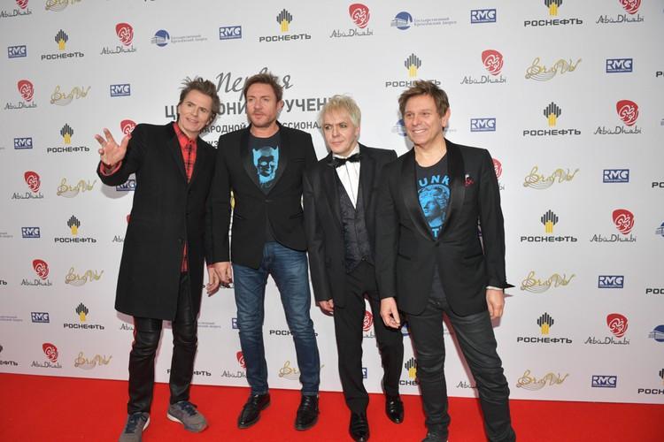 Британская поп-рок-группа Duran Duran