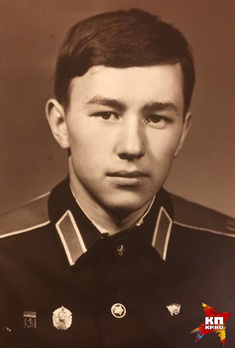 Генерал учился в Свердловском суворовском училище Фото: предоставлено близкими Владимира Еремеева