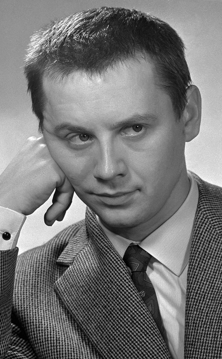 "Актер театра ""Современник"" Олег Табаков, 1964 год"
