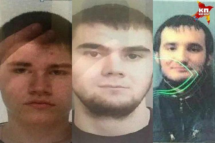 Никита Медведев, Дмитрий Карачкин и Владислав Гмыря подозреваются в нападении на мужчину.