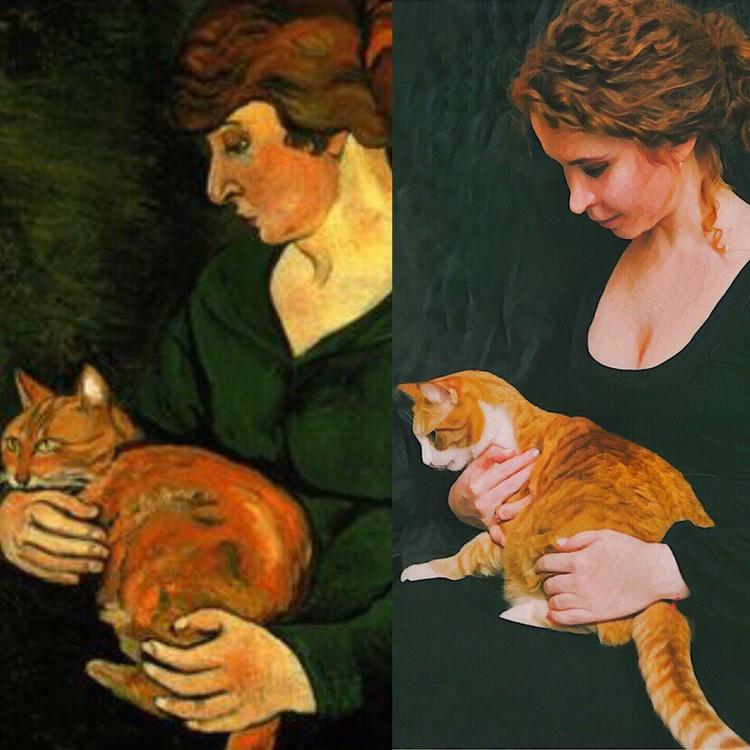 Картина Сюзанны Валадон. Фото: музей Фаберже.