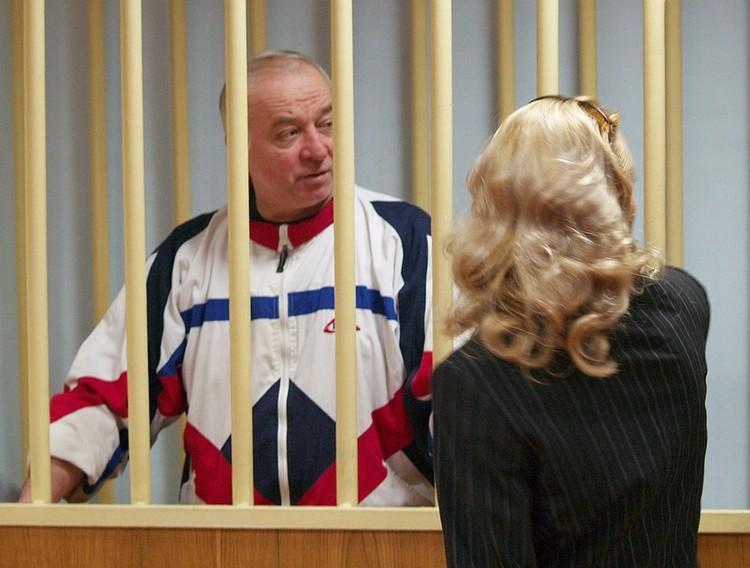 В 2006 году Сергей Скрипаль был изобличён и оказался в российской тюрьме. Фото ИТАР-ТАСС/ Пресс-служба Московского окружного военного суда