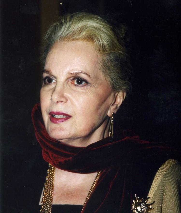 Актриса Элина Быстрицкая в 2006 году.