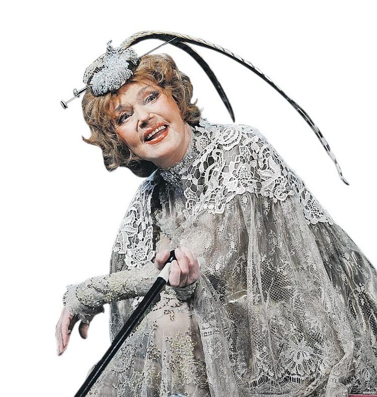 Юлия Борисова - 93 год. Фото: Александр Куров/ТАСС