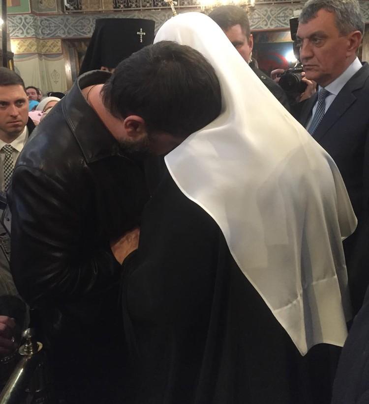 Патриарх попытался найти для осиротевших нужные слова