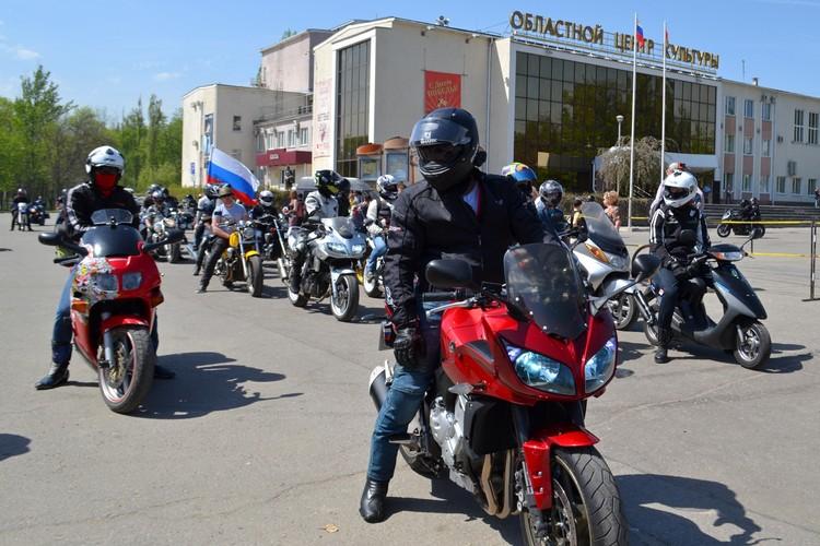 Открытие мотосезона в Липецке