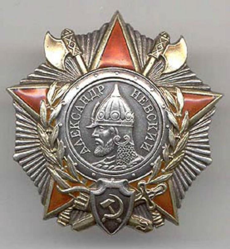 Орден Александра Невского. ФОТО: wikipedia