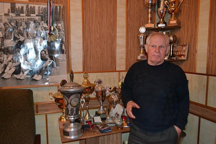 Александр Тарасиков с наградами