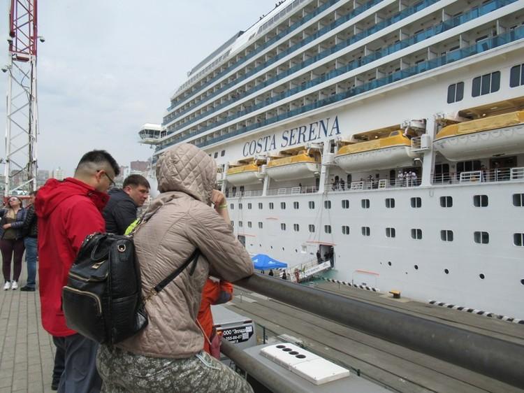 1504 каюты вмещают до 3700 пассажиров
