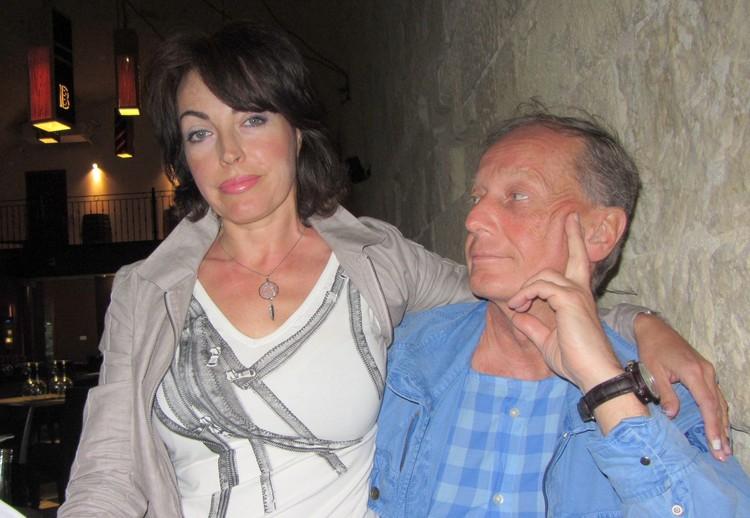 Михаил Задорнов и Елена Бомбина. Фото из семейного архива.