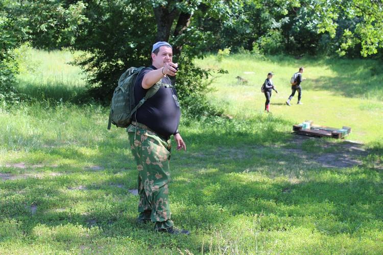 Семен Роготовский научил воронежцев ориентироваться на местности с помощью компаса