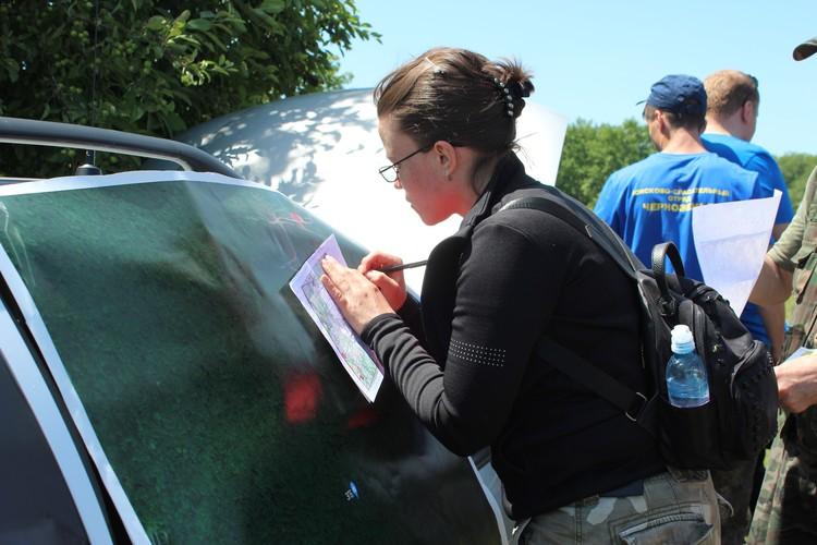 Мария из Алма-Аты с семьей поучаствовала в учениях воронежского поисково-спасательного отряда