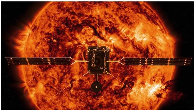 Зонд не все время будет находиться рядом с Солнцем - будет то подлетать, то удаляться, двигаясь по эллиптической траектории
