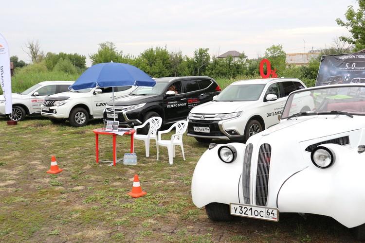 Отдыхающие могли провести тест-драйв автомобилей Mitsubishi