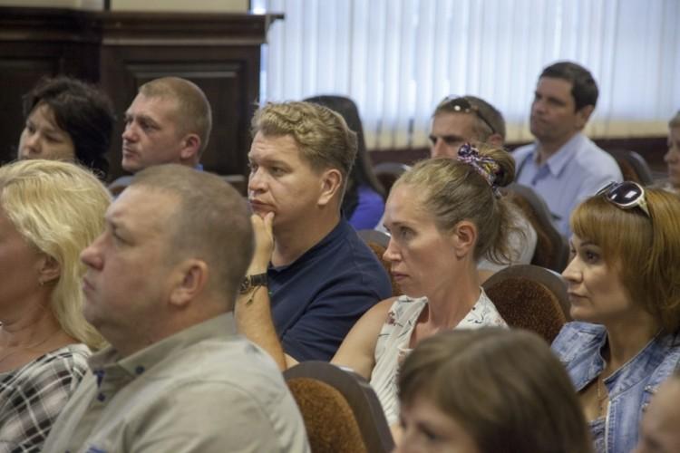На очередную встречу с председателем Следкома пришли порядка 50 человек Фото: СК России