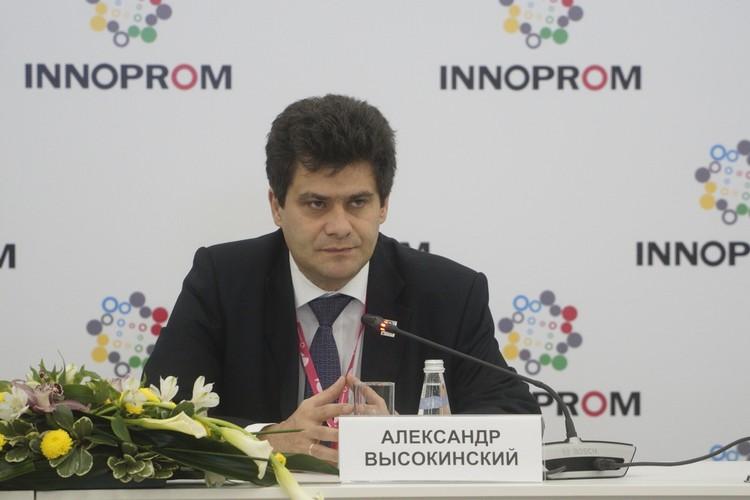 Заместитель губернатора Свердловской области Александр Высокинский.