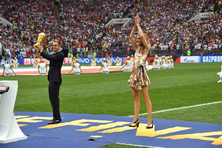 Филипп Лам и Наталья Водянова вынесли Кубок мира