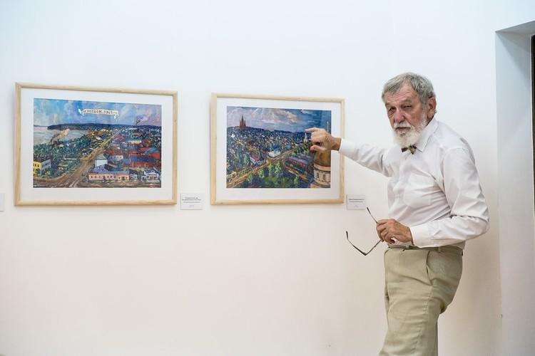 До 31 августа в музее ИЗО проходит выставка картин Евгения Шумилова
