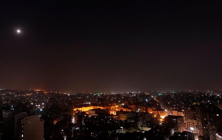 """""""Кровавая луна"""" 27 июля 2018 года над Каиром"""