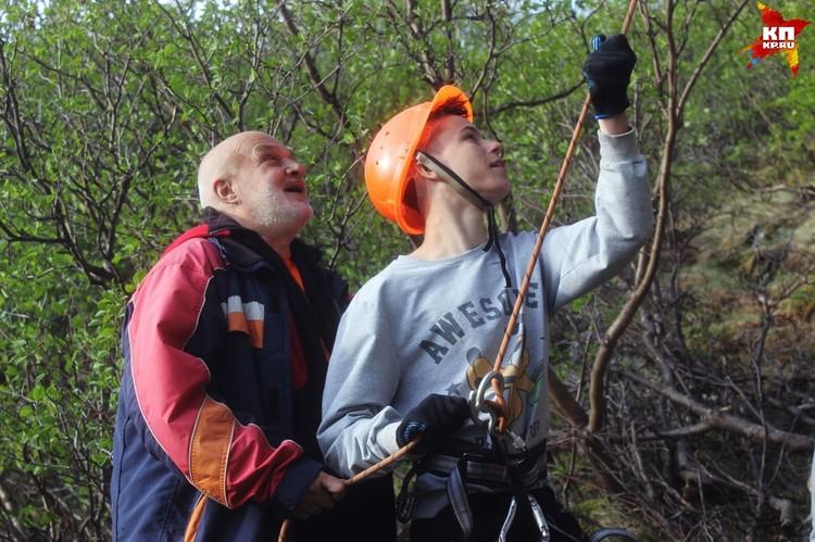 Прежде чем стать волонтером, необходимо закрепить навыки альпиниста