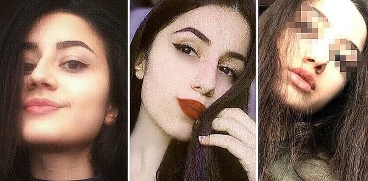 Сестры Хачатурян: Кристина, Ангелина и Мария.