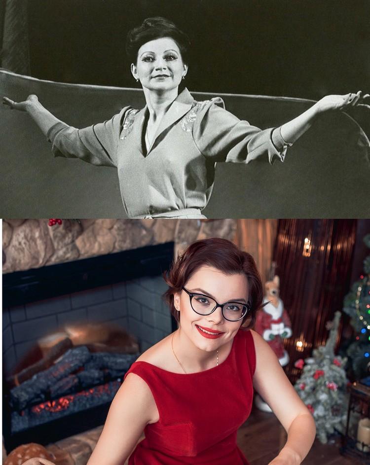 Елена Степаненко в молодости и Татьяна Брухунова очень похожи