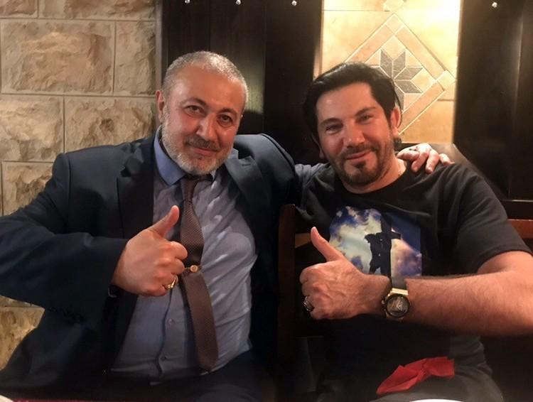 Фотографию с певцом Авраамом Руссо Михаил Хачатурян выложил за считанные недели до гибели