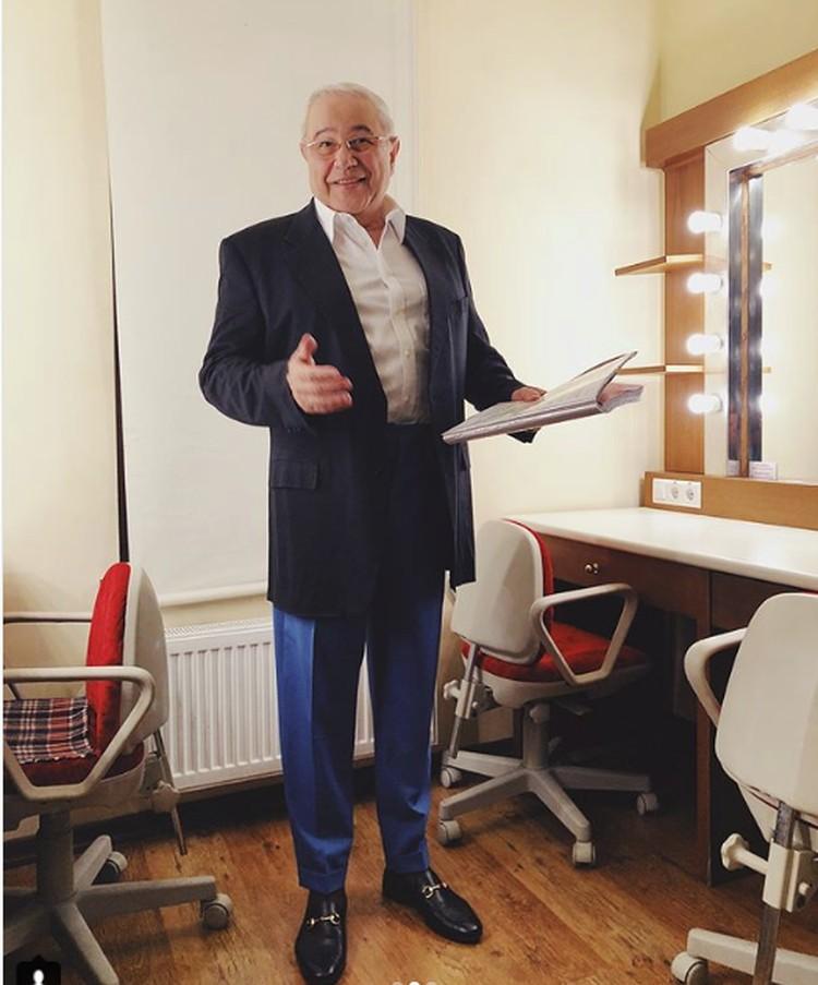 Артист готовится к встрече с ялтинской публикой. Евгений Петросян/instagram