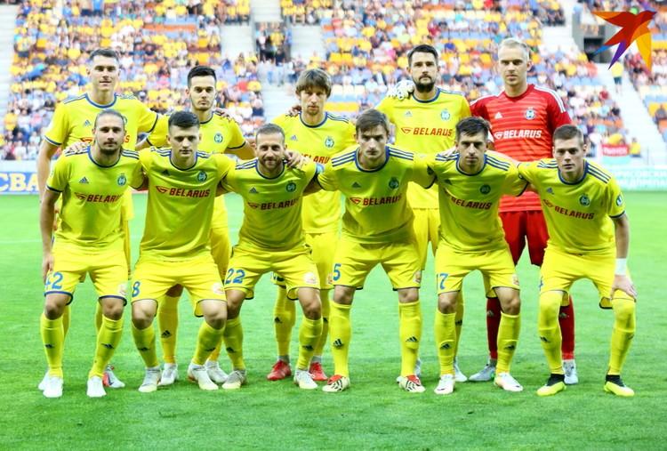 ФК БАТЭ официальная фотография перед игрой