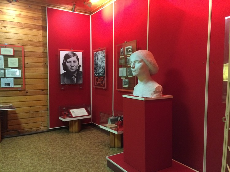 В музее в Пено. Фото: Алевтина МОДЕСТОВА