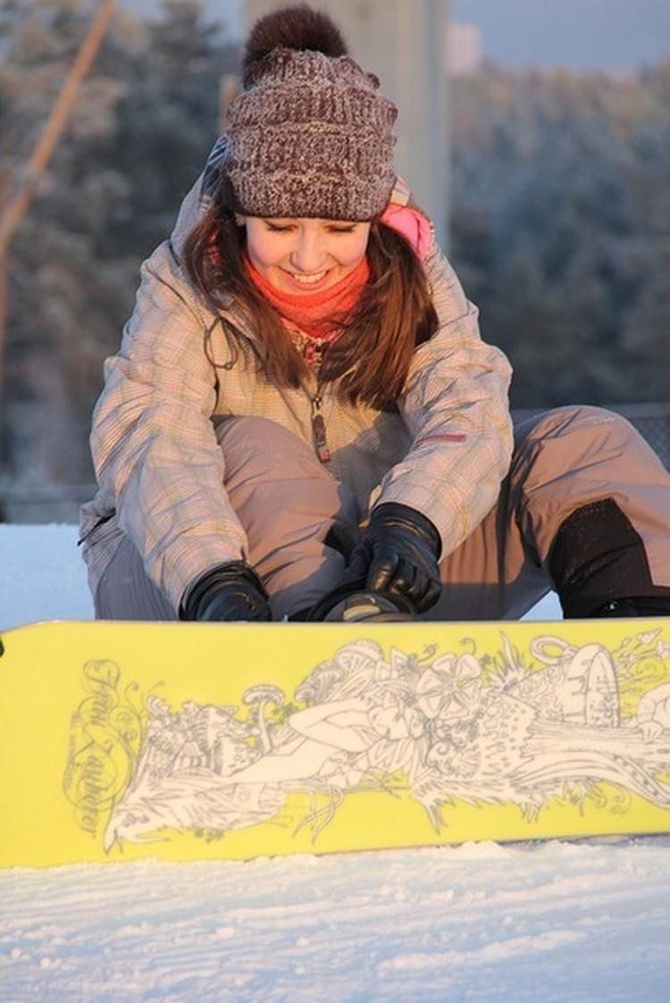 Девушки часто приходили на Уктус, в том числе и зимой. Фото: соцсети