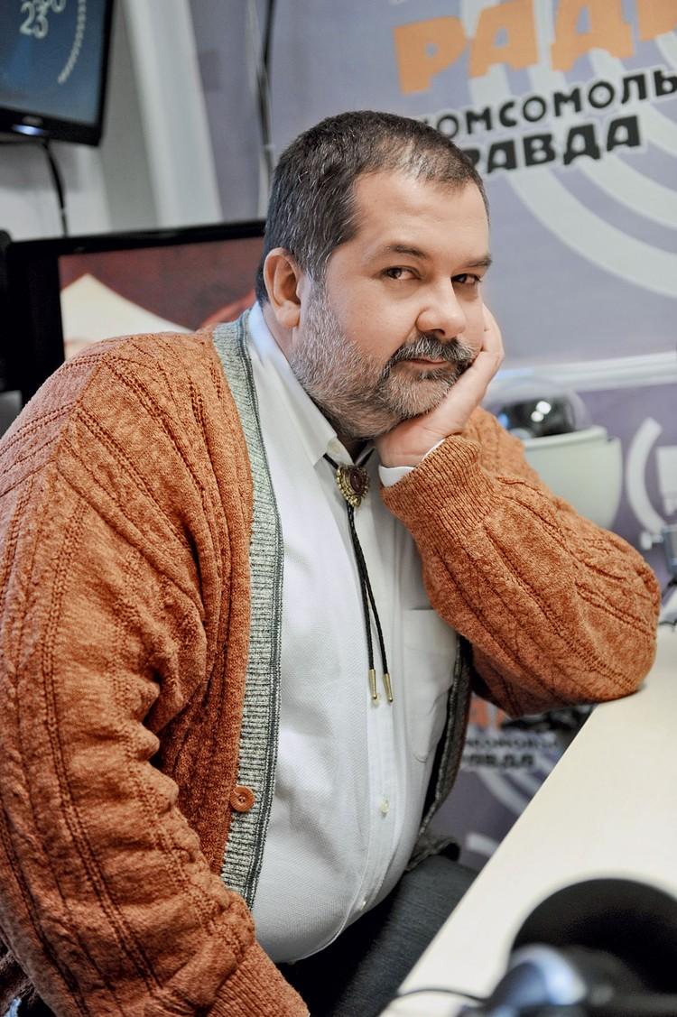 Сергей Лукьяненко, один из лучших писателей-фантастов России