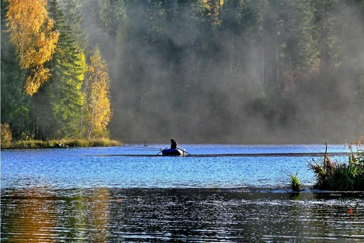В водах вятских рек можно выловить судака, карася, леща, сома и щуку. Фото: Николай ГРИБУШКО