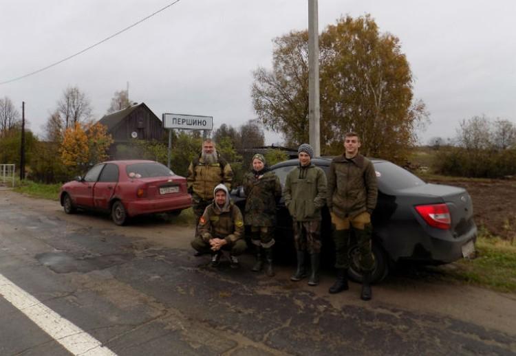 """Поисковый отряд """"Высота-76"""" на подходе к месту ЧП. Фото: поисковый отряд """"Высота-76""""."""