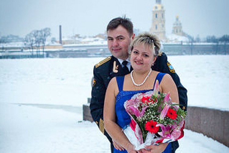 Шесть лет назад супруги обвенчались