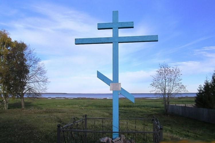 Крест - на границе между тем и этим городом. Фото: Татьяна Вавилова