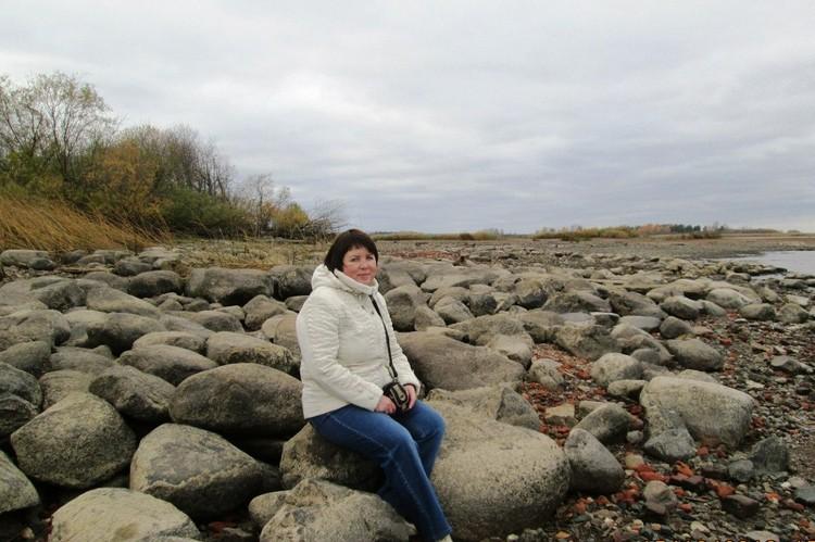 Татьяна Вавилова любит прогуляться по дну моря. Фото: из архива Татьяны Вавиловой