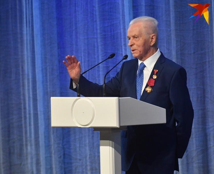 Первый секретарь ЦК ВЛКСМ 90-летний Евгений Тяжельников